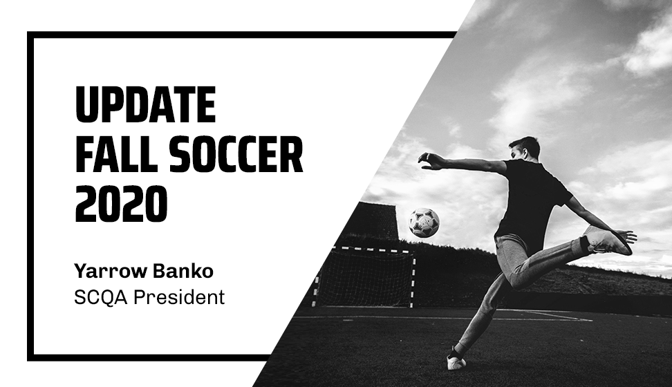 UPDATE | FALL SOCCER 2020